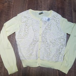 Women's Forever 21 yellow cardigan sz.L